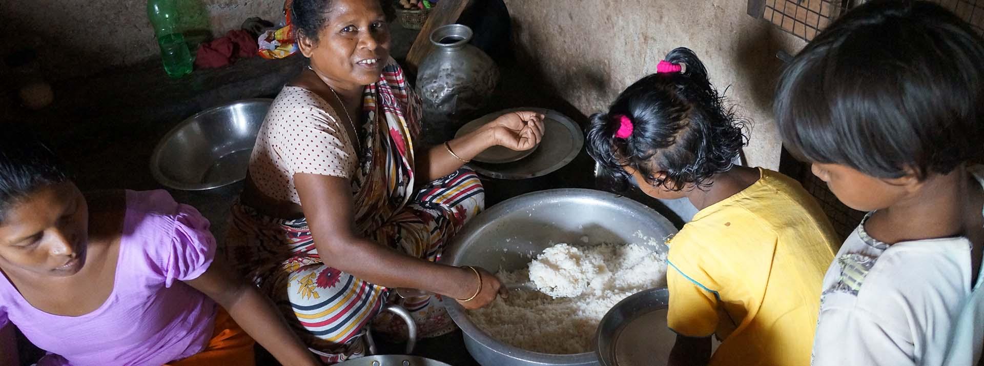 Sponsor needy women for skill training